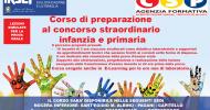 CORSO DI PREPARAZIONE AL CONCORSO STRAORDINARIO SCUOLA DELL'INFANZIA ,PRIMARIA E SOSTEGNO