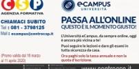 Ecampus - Ora paghi solo la tassa annuale e non la quota d'iscrizione.
